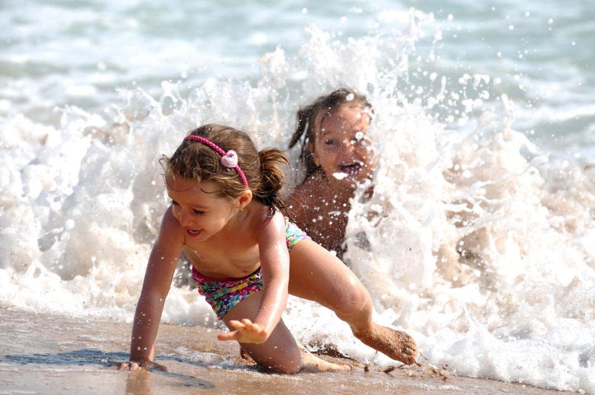 картинки с малышами на море инновационный